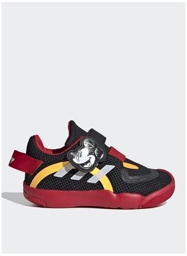 adidas Adidas Erkek Çocuk Siyah-Kırmızı Yürüyüş Ayakkabısı Siyah